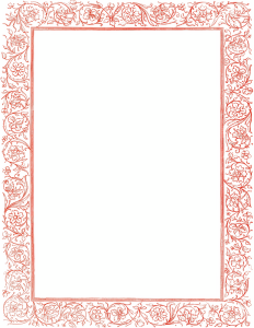 victorian_floral_border_red